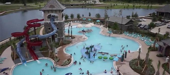 Parks And Recreation Riverstone Near Sugar Land Tx