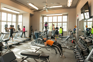 The Club at Riverstone Fitness Room