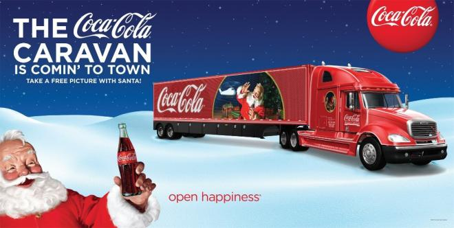 Have a Coke, a picture with Santa and a smile when the Coca